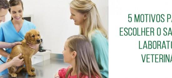 5 motivos para escolher o Santé Laboratório Veterinário