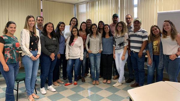 Santé participa do Curso de Habilitação de Médicos Veterinários no PNSE
