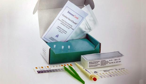 Esse teste vacinal é capaz de determinar se o filhote respondeu à vacinação